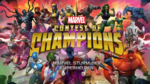 App: Marvel Sturm der Superhelden