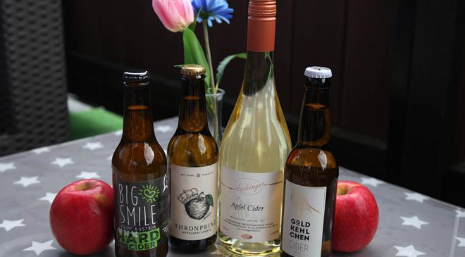 Der österreichische Cider-Test