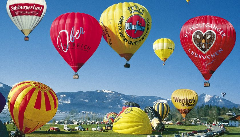 Ballonfahren: Fast über den Wolken