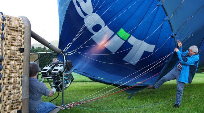 Ballon Befüllen